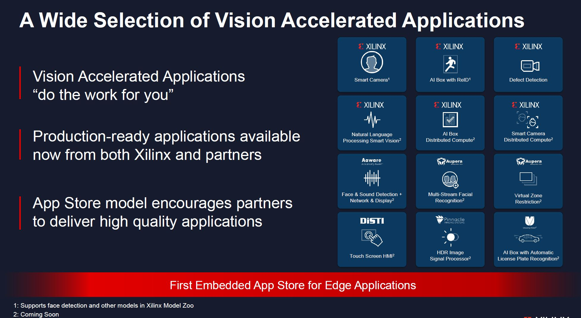 Xilinx Kira SOM Accelerated Application