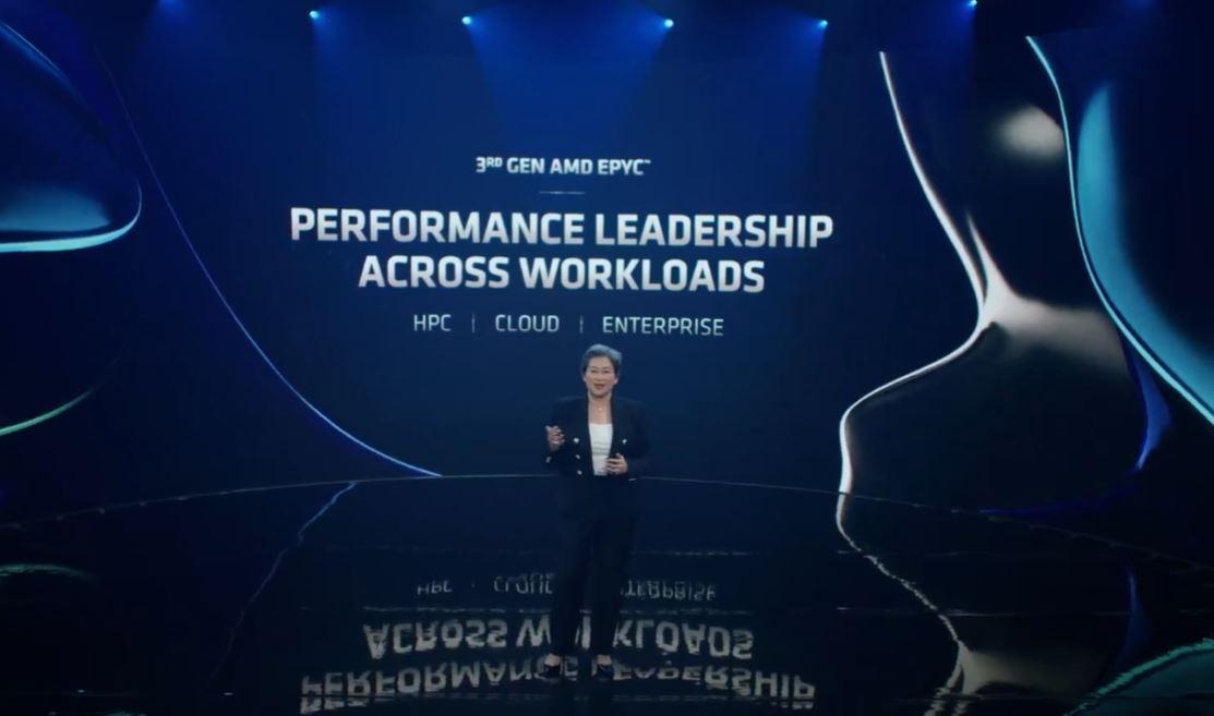 AMD Computex 2021 Keynote EPYC