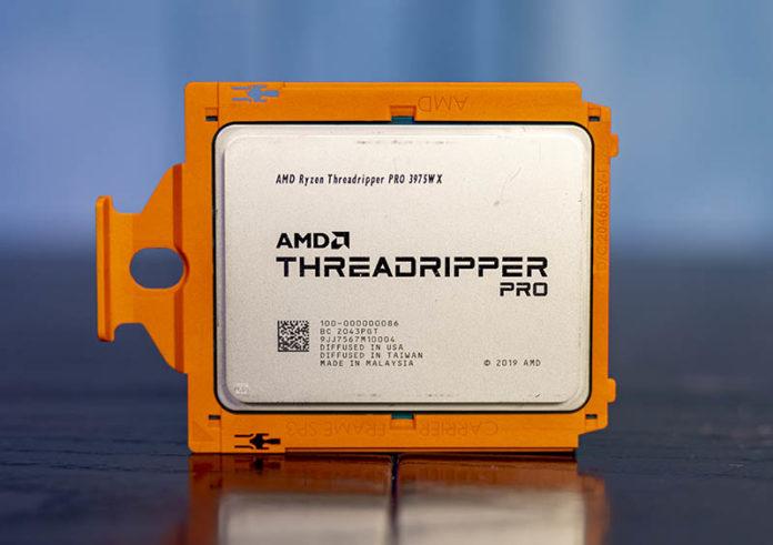 AMD Ryzen Threadripper Pro 3975WX Cover