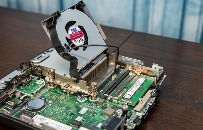 HP EliteDesk 800 G6 Mini 35W Memory And Flip Fan