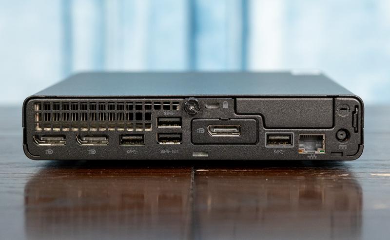 HP EliteDesk 800 G6 Mini 35W Rear