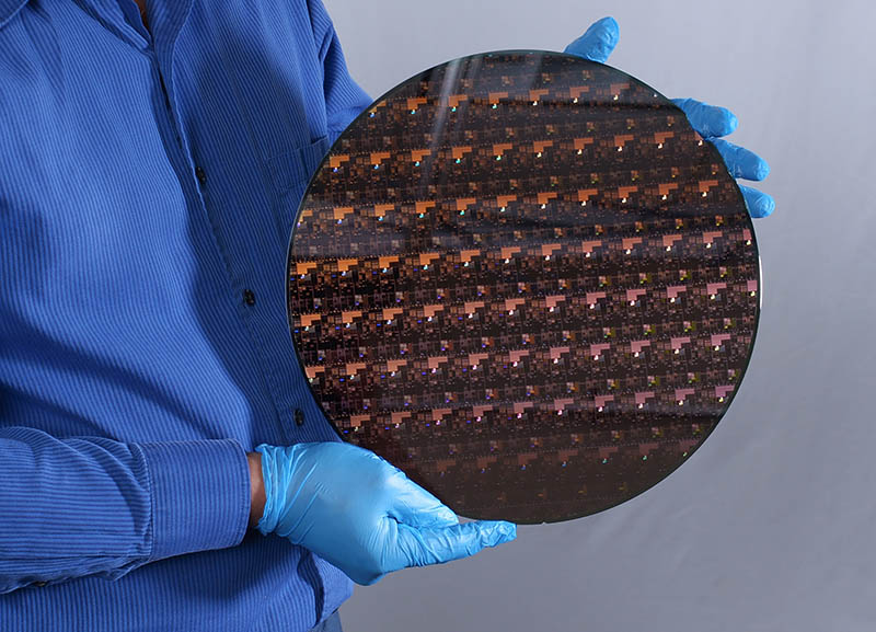 IBM Research 2 Nm Wafer In Hand