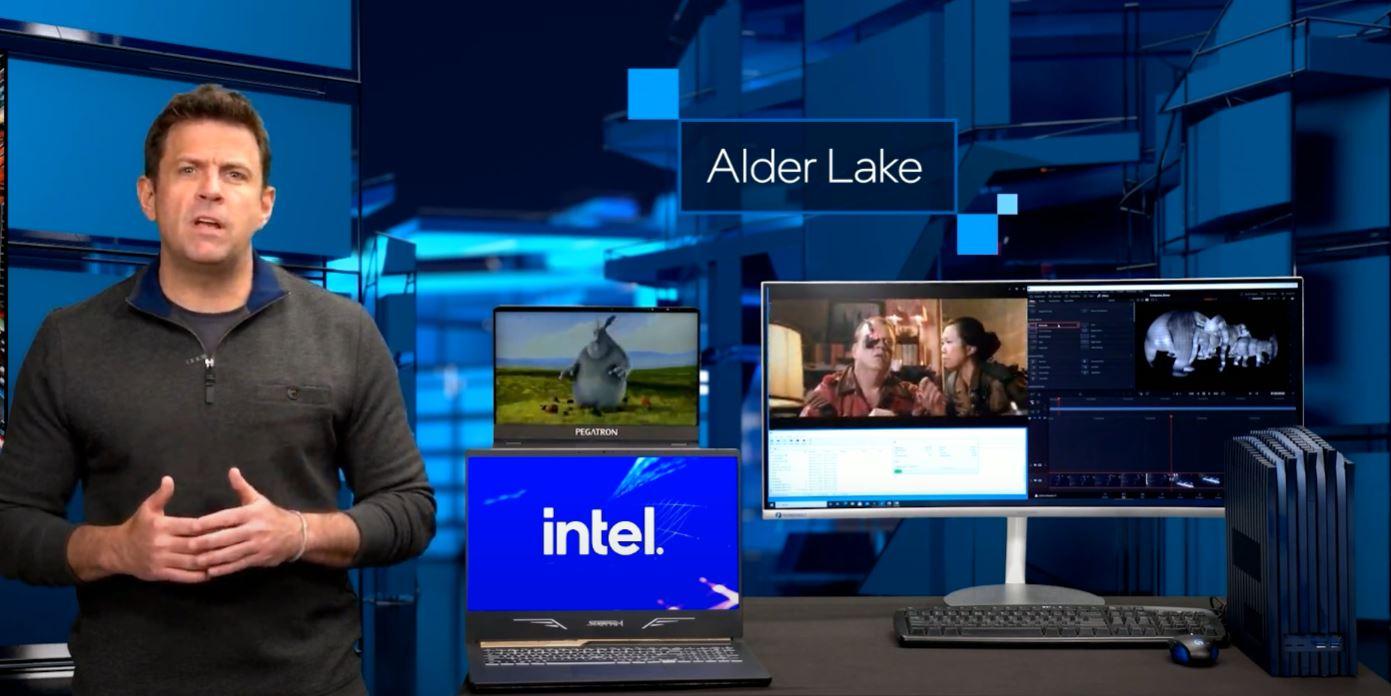 Intel Computex 2021 Keynote Alder Lake