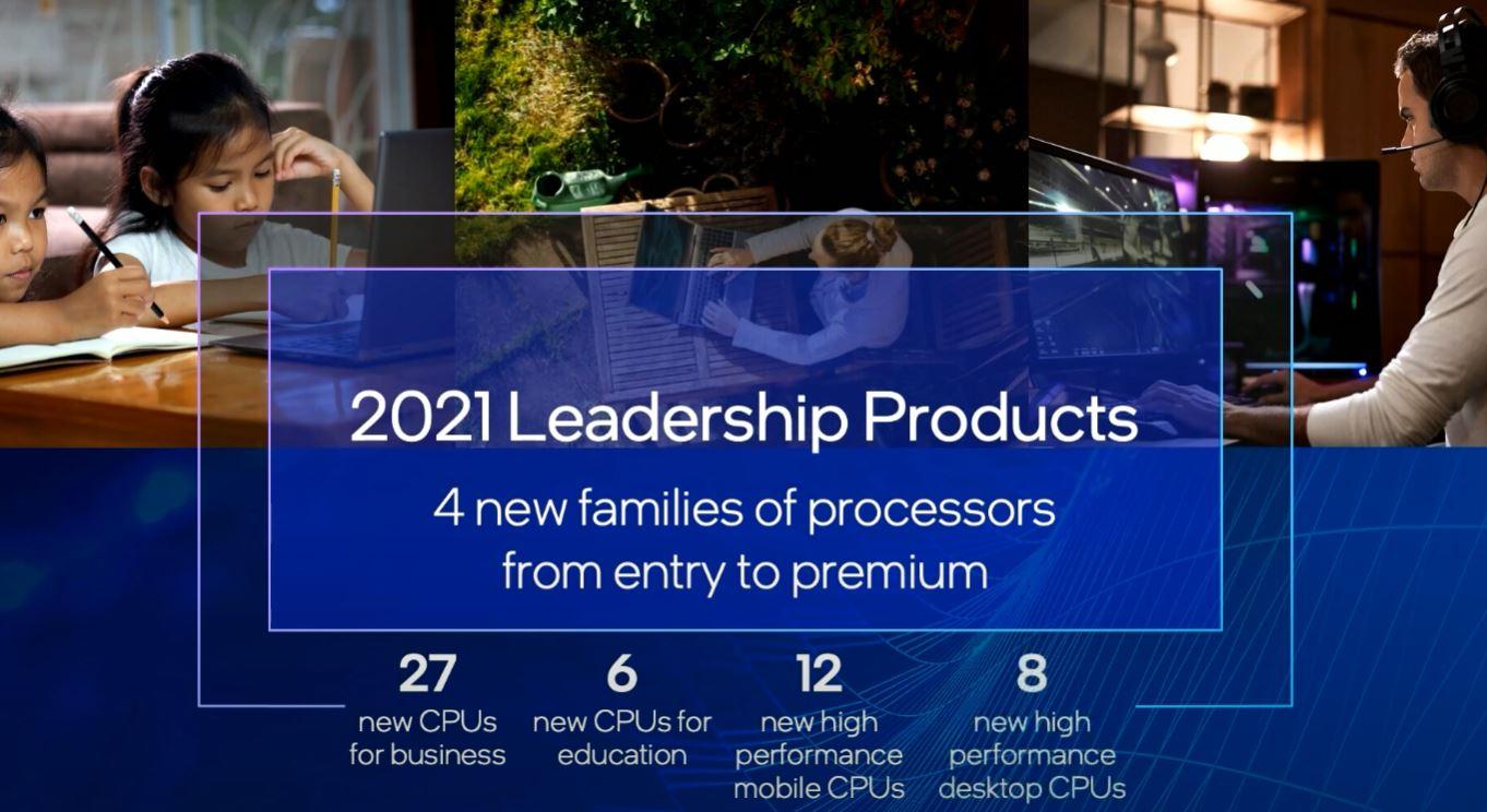 Intel Computex 2021 Keynote New PC CPUs