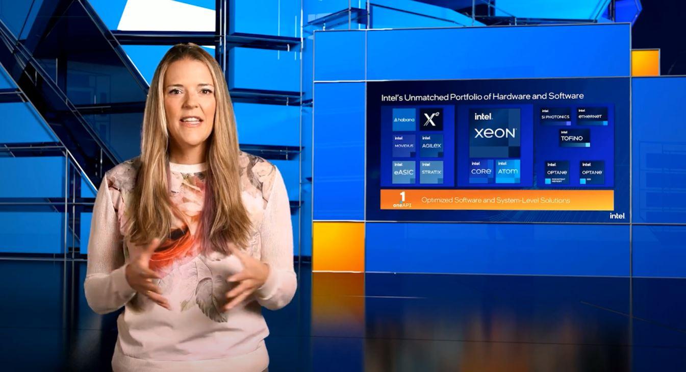 Lisa Spelman Intel Computex 2021 Keynote Platforms