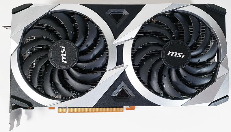 MSI Radeon RX 6700 XT MECH 2X 12G OC Front