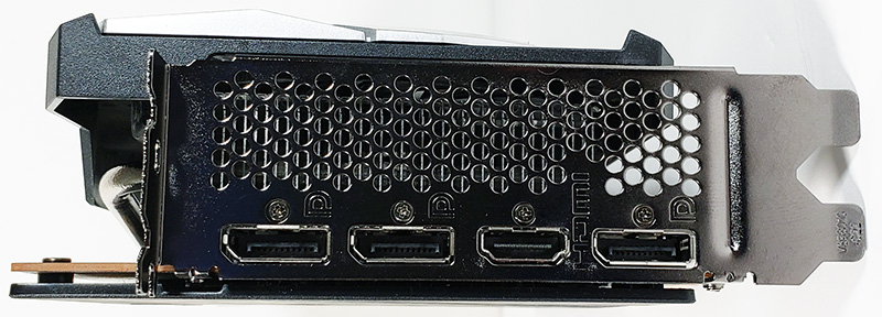 MSI Radeon RX 6700 XT MECH 2X 12G OC Outputs