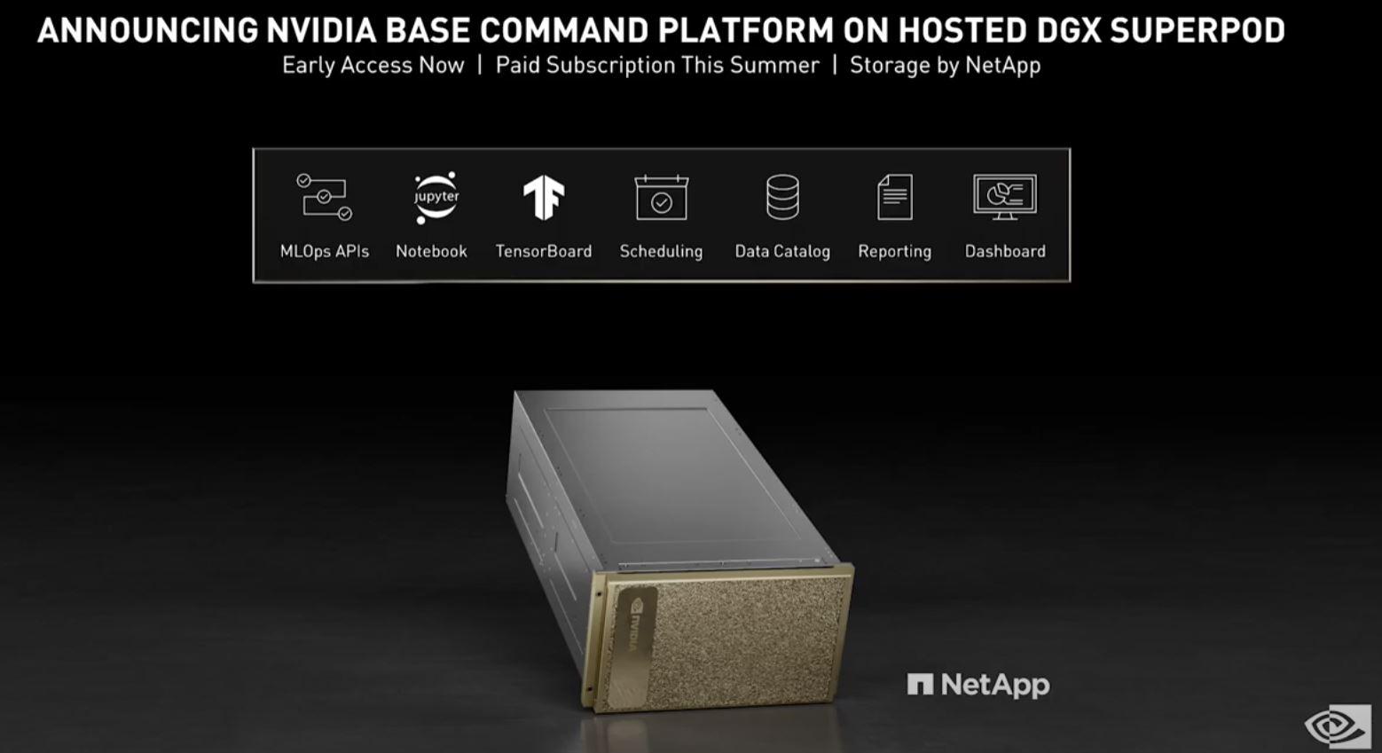NVIDIA Computex 2021 NVIDIA DGX Superpod Rental