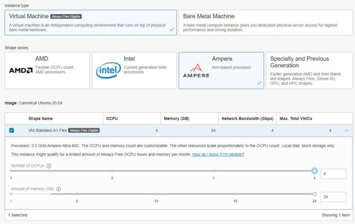 Oracle Cloud Always Free Tier Ampere A1 Cover
