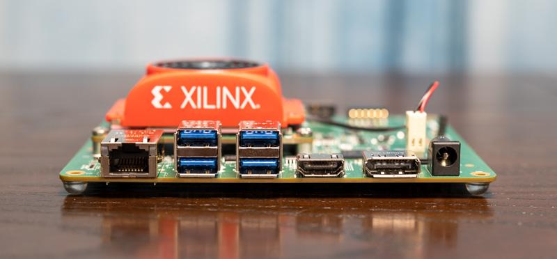 Xilinx Kria KV 260 Vision AI Starter Kit GbE USB Display And Power