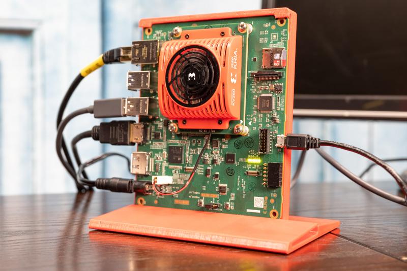 Xilinx Kria KV 260 Vision AI Starter Kit Running 1