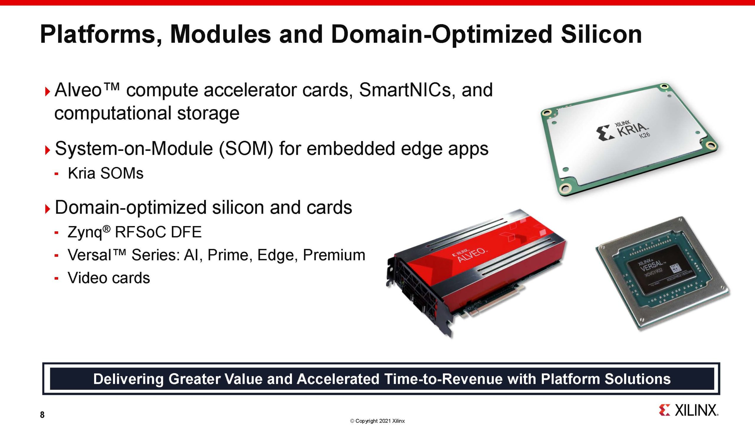 Xilinx Victor Peng 1H2021 Platforms Modules And Silicon