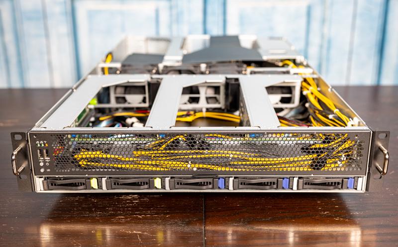 STH Server Spider ASRock Rack 2U4G ROME 2T