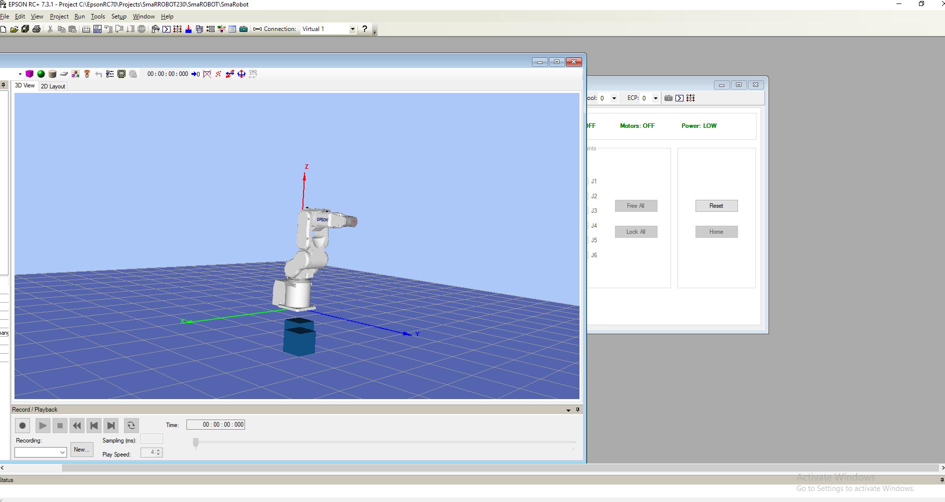 Advantec Smasoft Robot Arm