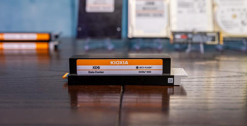 Kioxia XD6 E1.S 25mm 1