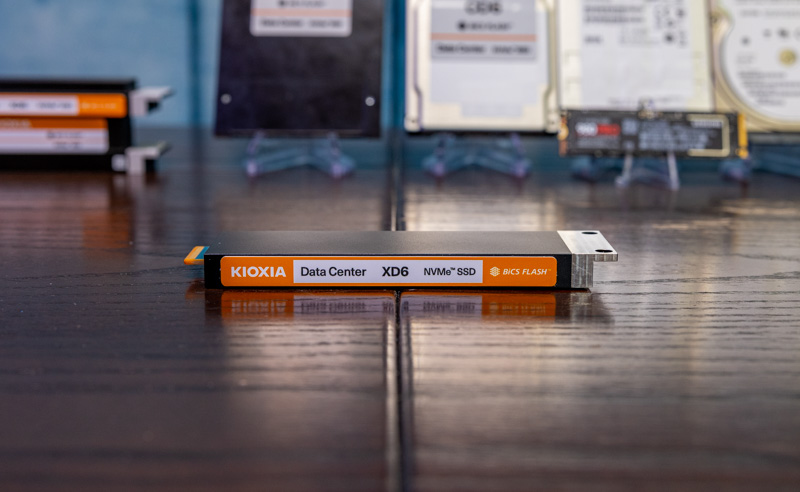 Kioxia XD6 E1.S 9.5mm 1
