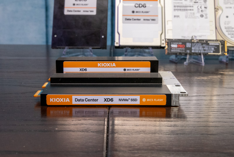 Kioxia XD6 E1.S Family 1