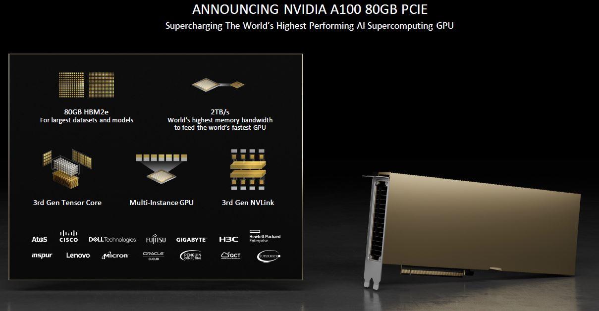 NVIDIA A100 80GB PCIe Presentation