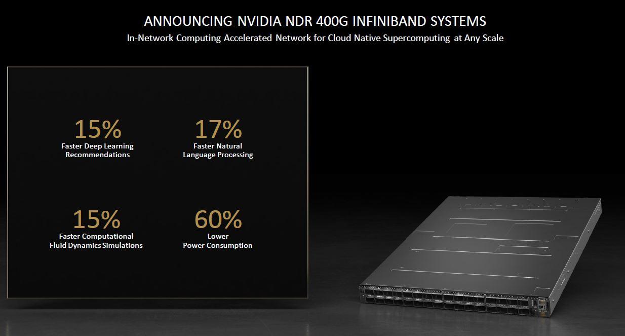 NVIDIA NDR Infiniband Switch Presentation