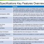 NVMe 2.0 Spec Key Features