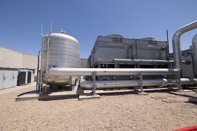 PhoenixNAP Outdoor Cooling Towers And Tanks