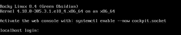 Rocky Linux 8.4 Installer 2