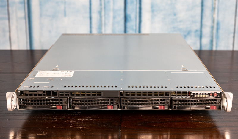 Supermicro SYS 510P WTR Front