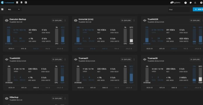 IXsystems TrueCommand 2.0 Released