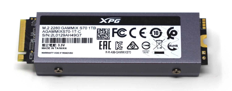 ADATA XPG Gammix S70 1TB Back