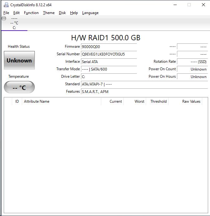 ICY DOCK MB902SPR B CrystalDiskInfo
