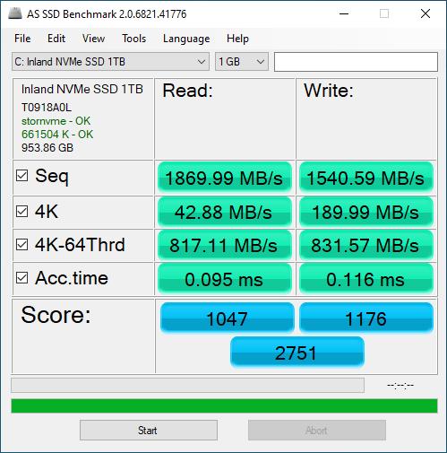 Inland Professional 1TB ASSSD 1GB
