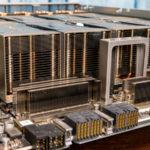 Inspur NF5488A5 NVIDIA HGX A100 8 GPU Assembly Heatsinks Side