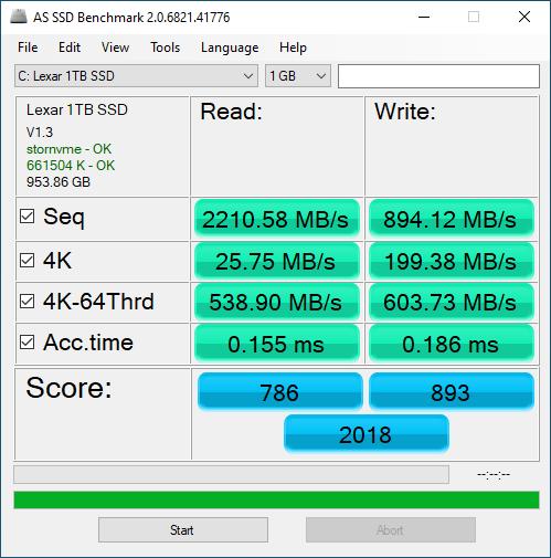 Lexar NM620 1TB ASSSD 1GB