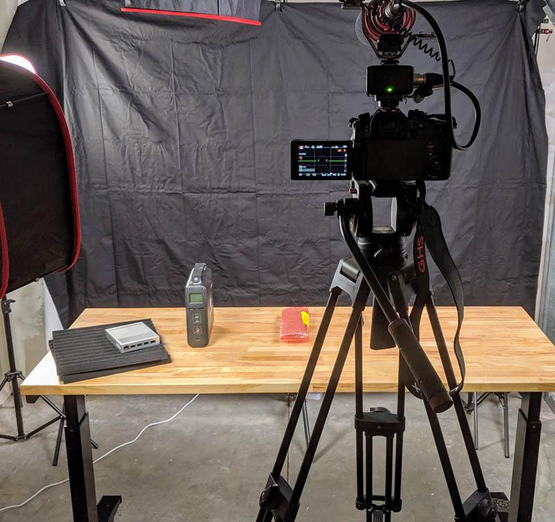 Panasonic Camera In The Sunnyvale Studio