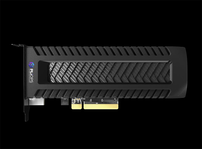 Pliops XDP PCIe Card Pictured