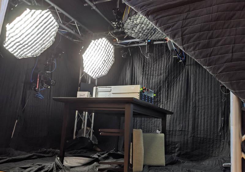 STH Blue Door Studio Photo Session With Floor Blankets