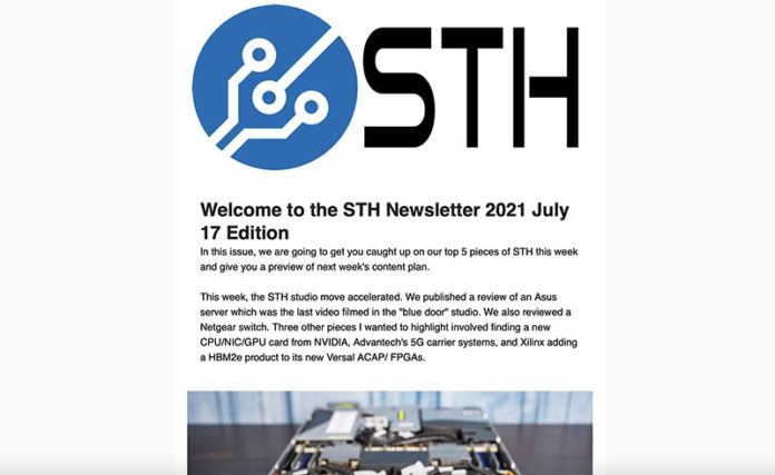 STH Newsletter 2021 07 17 Edition
