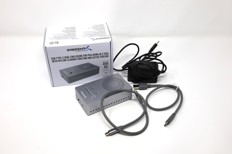 Sabrent EC SSD2 Box Contents