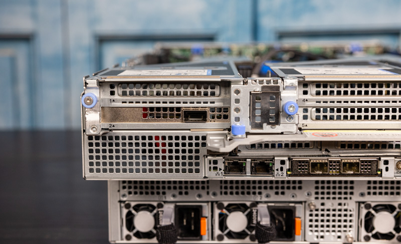 Dell EMC PowerEdge XE8545 Rear Networking Expansion