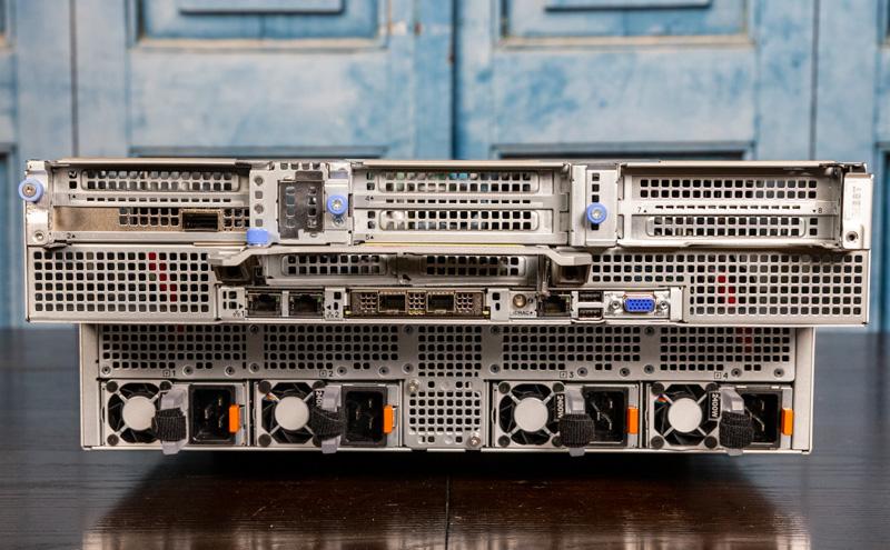 Dell EMC PowerEdge XE8545 Rear Overview
