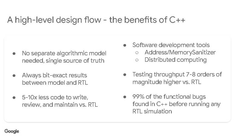 HC33 Google VCU Design Flow CPP