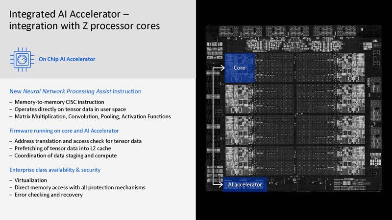 HC33 IBM Z Telum Processor Embedded AI Accelerator With Z Processor Cores