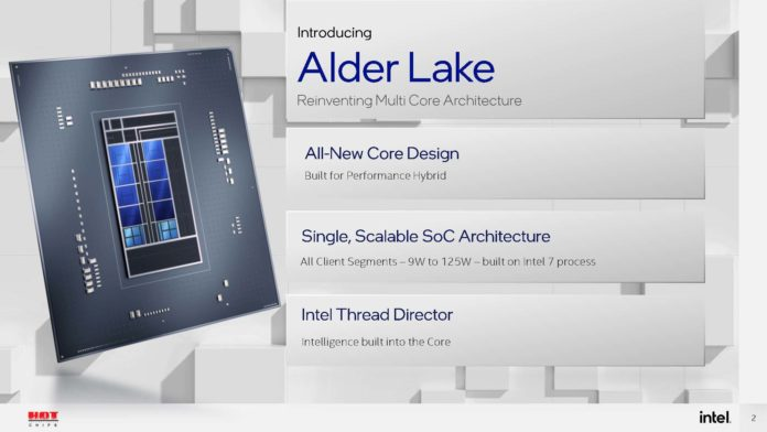 HC33 Intel Alder Lake Summary