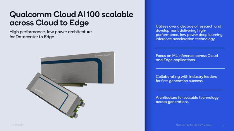HC33 Qualcomm Cloud AI 100 Cards Slide