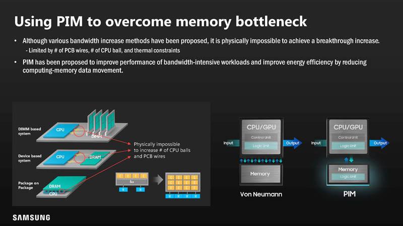 HC33 Samsung HBM2 PIM Aquabolt XL To Overcome Memory Bottlenecks