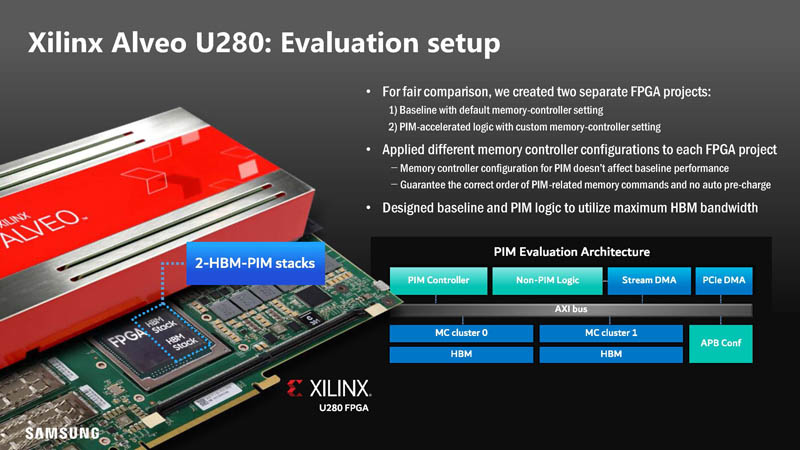 HC33 Samsung HBM2 PIM Aquabolt XL With Xilinx Alveo U280