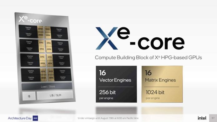 Intel Arc Xe Core