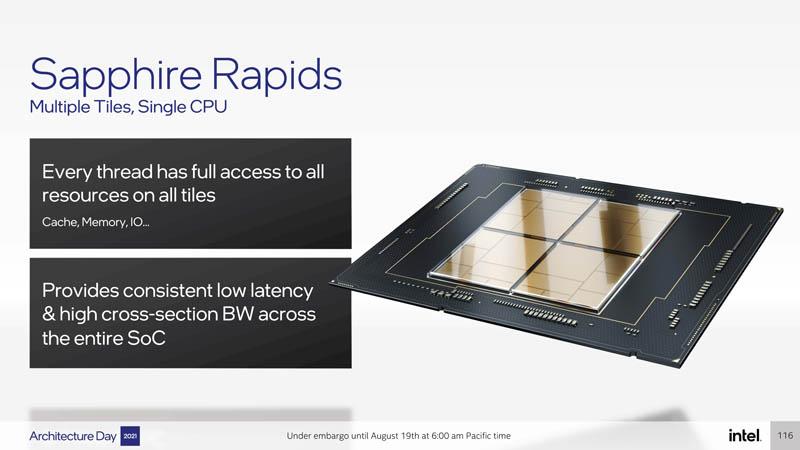 Intel Architecture Day 2021 Sapphire Rapids Better Glue
