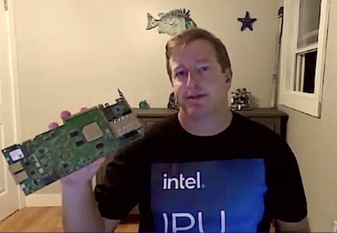 Intel Mount Evans IPU Card