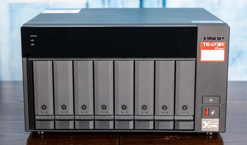 QNAP TS 873A Front